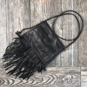 {Hobo International} Fringe Crossbody Leather Bag